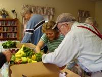 Food Recipient at Maple Manor Senior Housing